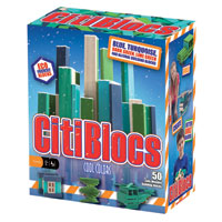 Citiblocs Cool Colors - 50 pc