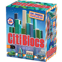 Citiblocs Cool Colors - 100 pc