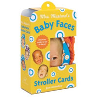 Mrs. Mustard's Baby Faces Stroller Cards