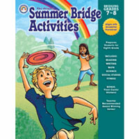 Summer Bridge Workbook - Seventh-Eighth