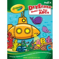 Crayola Dry-Erase Activity Book