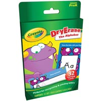 Crayola Dry-Erase Learning Cards