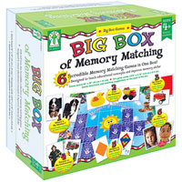 Big Box of Memory Matching