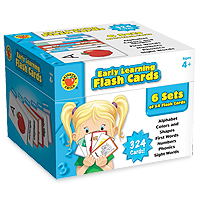 Early Learning Flash Cards Box Set
