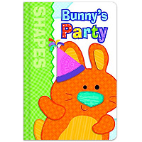 Brighter Child Board Book - Bunny's Party