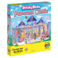 Shrinky Dinks Princess Castle