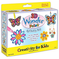 3D Wonder Paint Flowers Kit
