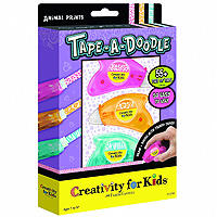 Tape-a-Doodle Animal Prints 3-Pack