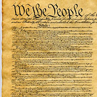 Constitution of the U.S. 1787 Historical Document