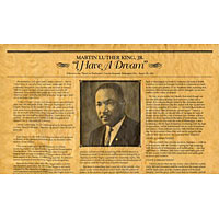 I Have A Dream - Martin Luther King Jr. Historical Document