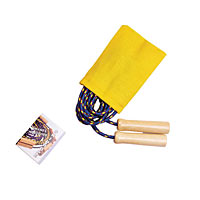 Jump Rope - Color Canvas Pouch