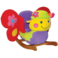 Brandy Butterfly Rocker
