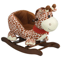 Rocking Giraffe with Seat