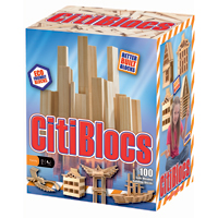 Citiblocs Natural - 100 pc