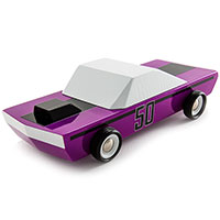 MO-TO Plum50 Wooden Car