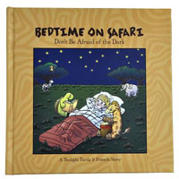 Bedtime on Safari Book with Puppets and Theater Box Set
