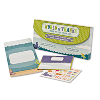 World of Thanks Kids Thank You Note Set