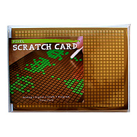 Pixel Scratch Card
