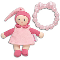 Pink Mini Miss & Baby Teether