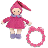 Grenadine Mini Miss & Baby Teether