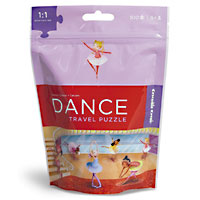 Travel Pouch Puzzle - Dance