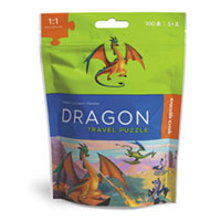 Travel Pouch Puzzle - Dragon
