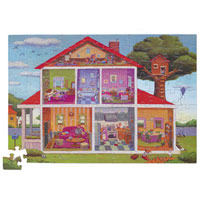 ABC House Puzzle - 100 pc