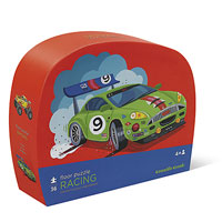 Racing Shaped Box Puzzle - 36 pc