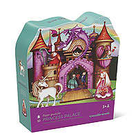 Princess Palace Shaped Puzzle - 32 pc