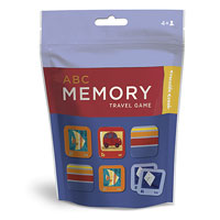 ABC Memory Travel Pouch Game