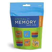 Animal Memory Travel Pouch Game