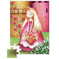 Mini Shaped Box Puzzle - Flower Princess