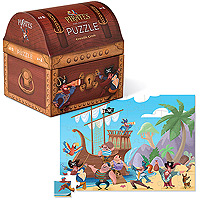 Pirate's Treasure Double Fun Puzzle 48 pc