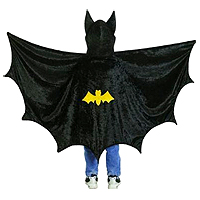 Bat Toddler Hooded Cape