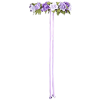 Rose Garland Halo - Lilac