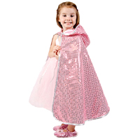 Reversible Hooded Princess/Fairy Cape