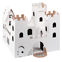Cardboard Decorate-it-Yourself Castle