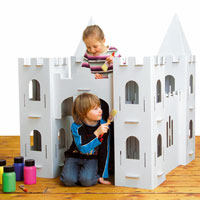 Giant Decorate-it-Yourself Castle