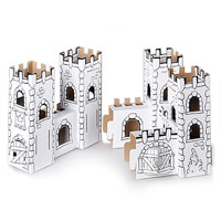 Cardboard Decorate-it-Yourself Dragonrock Castle