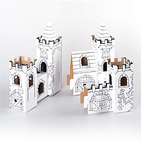 Cardboard Decorate-it-Yourself Rosegarden Palace