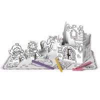 Cardboard Decorate-it-Yourself Princess Party Set