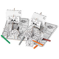 Cardboard Decorate-it-Yourself Pirate Party Set
