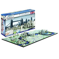 4D Cityscape Puzzle - London