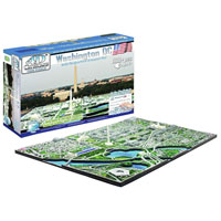 4D Cityscape Puzzle - Washington DC