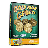 7-Pc Gold Rush Geodes