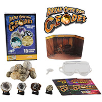 15-Pc World's Best Geodes