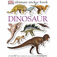 Ultimate Sticker Book - Dinosaur