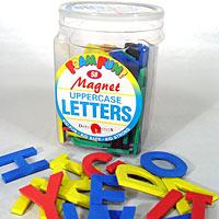 Foam Fun - Upper Case Magnet Letters