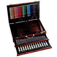 Art 101 165 piece Wood Art Set