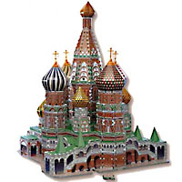 St. Basil's Cathedral 3D Puzzle